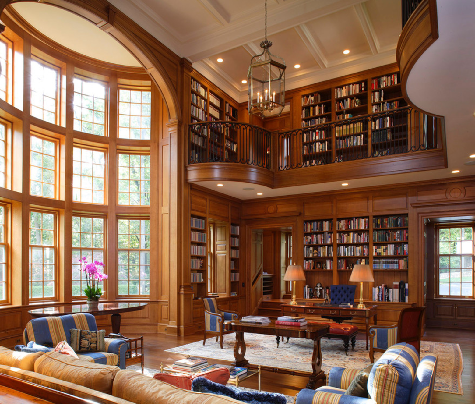 Reading Spaces More Traditional Home Libraries Shannon Fox